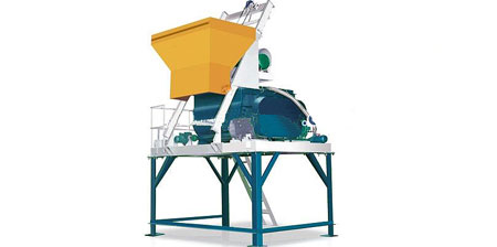 Compulsion Type Concrete Mixers